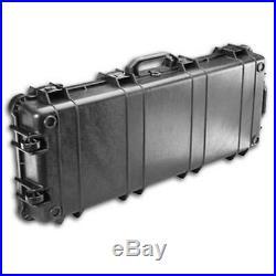 Pelican 1700-000-110 Protector Wheeled Rifle Black Long Case 39 x 18 x 6.5