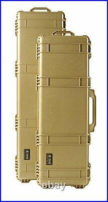 Pelican 1720 Rifle Case With Foam Desert Tan