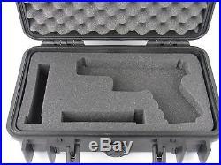 Pelican Case 1170 with Custom Foam for Glock 19 (Case & Foam) Black