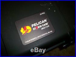 Pelican Storm Case Im3100 With Foam Waterproof Gun Shipping Case Nice