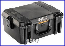 Pelican VCV550 Vault Equipment Case Black 22 Interior 19 L x 14 W x 8.50 D P