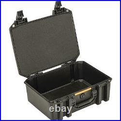 Pelican Vault V300 Large Case with Lid Foam and Dividers, Black #VCV300-0040-BLK