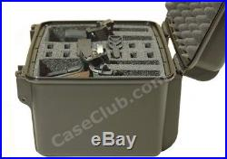 Pistol And Ammo Case Hard Padded Hand Gun Storage Waterproof Portable Airline