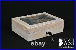 Pistol Gun Presentation Case Wood Box