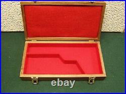Pistol Gun Presentation Case Wood Box Browning Buckmark John 22
