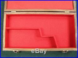 Pistol Gun Presentation Case Wood Box For Automag Auto Mag Amc Tde Omc 44amp Amt