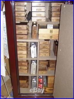 Pistol Gun Presentation Case Wood Box For Colt Boa Revolver Elite Snake Blue 357