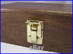 Pistol Gun Presentation Case Wood Box For Mauser Hsc Pistol Semi Auto German Ss