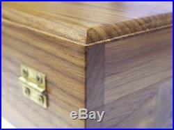 Pistol Gun Presentation Case Wood Box For Smith & Wesson 686 Combat Revolver S&w