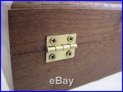 Pistol Gun Presentation Case Wood Box For Walther P38 P1 Pistol Semi Auto German