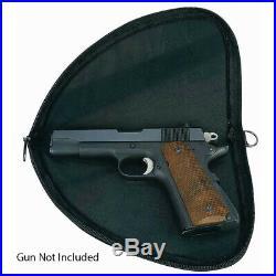 Pistol Rug Small 9.75 Case Soft Padded Hand Gun Zipper Pouch Storage
