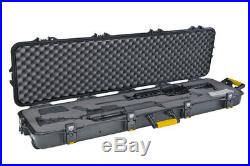 Plano GunGuard AW Dbl-Scoped Rifle Case wheeled