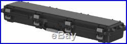 Plano Molding Field Locker Mil-Spec Single Long Gun Case Black Hard Gun 109501