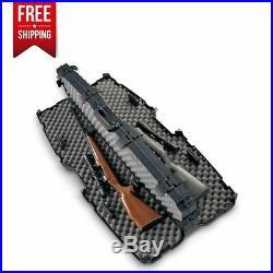Plano SXS PillarLock Double Scoped Rifle Outdoor Hard Case with Heavy Duty Latches