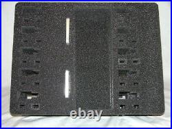Precut 10 pistol handgun foam insert kit fits your Pelican 1620 case +nameplate