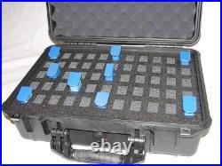 Precut 55 double mag pistol handgun foam insert fits your Apache 4800 case