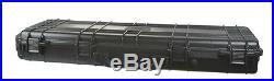 Premium Rolling Weatherproof 42 Rifle Shotgun AR Case with Wheels DIY Foam
