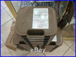 QTY 5 GLOCK Tan/FDE Factory Gun Box Case 17 19 19X 22 26 34 42 43 43X 44 45 48