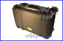 QUICK FIRE 9 Pistol Storage Case Security Gun Safe Universal Slots Waterproof