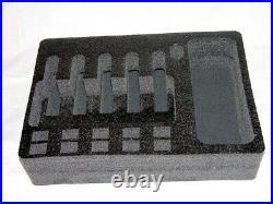 QuickDraw 5 pistol +10 mags + Storage Bucket foam insert kit fits HPRC 2600 case