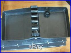 Rare Vintage GUN-HO Sport Case Handgun Pistol with Removable 5-Gun Tray Black