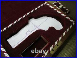 Remarkable Cased Pistol Wooden BOX for Civil War Era Derringer type