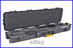 Rifle Case With Wheels Hard Gun Cases For Rifles Scopes Two All Weather AW Lock