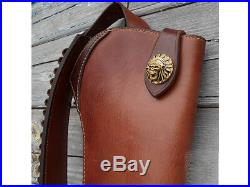 Rifle Leather Scabbard Marlin Rossi Winchester 20' inches Handmade Tailor-Made