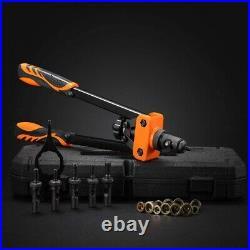 Rivet Nut Tool Gun Kit Case Rivnut Fastener Setter Hand Blind Metric SAE Manual
