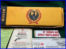 Ruger Redhawk 44 Mag Stainless 7 1/2 Inch Adj Sights Krh-44 Box & Paperwork