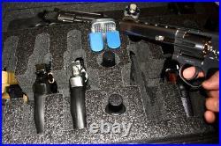SKB 2217-8 Quickdraw 6 large Pistol Revolver foam insert fits your case +bonus