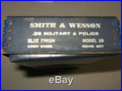 SMITH & WESSON MODEL 10 BOX WithPAPERWORK + Tools