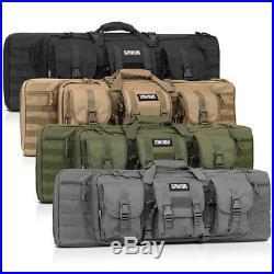 Savior Equipment 36 55 Double Carbine Rifle Long Gun Padded Case Range Bag