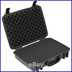 Seahorse SE710 Protective Hard Case with pre-cut Foam (Black)