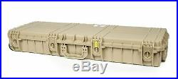 Seahorse SE-1530 Protective Hard Rifle Case with foam & Wheels (Desert Tan)
