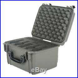 Seahorse SE-540FP4 Protective Pistol Case with Foam (Gun Metal Gray)