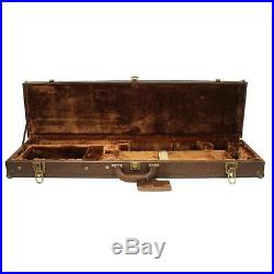 Shotgun LeatherLock Deluxe take-down hard case, Brown