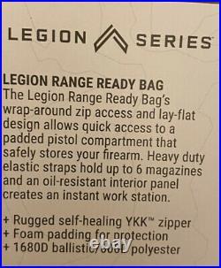 Sig Sauer Legion 5.11 TACTICAL PISTOL RANGE READY BAG CASE 037 Med Grey 56609SG