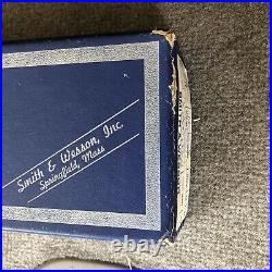 Smith & Wesson. 22 Combat Masterpiece Pre-Model 18 / Early 18 Box S&W K-22 50s