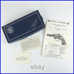 Smith & Wesson Original Box For Model 19.357 Combat Magnum Revolver Manual