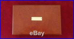 Smith & Wesson S&W Revolver or Pistol Presentation Case Wood Box Made to Order