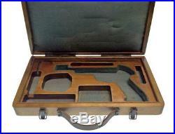 Soviet Russian Pistol Margolin Case Target Shooting Military Army Gun Box USSR