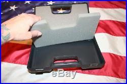 Springfield Armory 9.25 x 6.25 hard black hand gun case hunting sporting