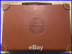 TKL NRA 100th Anniversary Camp Perry National Matches Leather Pistol Case 1911