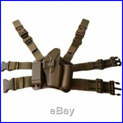 Tactical Combat Glock Pistol Gun Holster Military Hunting Shooting Gun Case