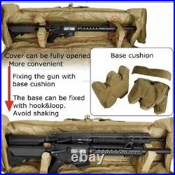Tactical Dual Gun Bag Military Hunting Sniper Backpack Double Rifle Carry Huntin