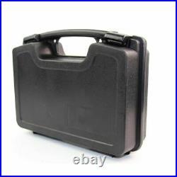 Tactical Gun Hard Case Pistol Handgun Storage Box Padded Carry Hunting Military