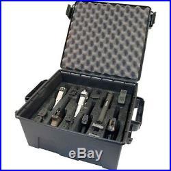 Tactical Handgun Case Large Pistol Carrying Case 6 Multiple Universal Hand Gun