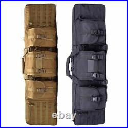 Tactical Molle Gun Soft Bag Hunting Paintball Sniper Airsoft Rifle Case Backpack