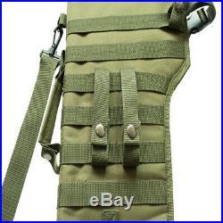 Tactical Rifle Scabbard Case Shotgun Shoulder Carry Bag Hunting Gun Holster